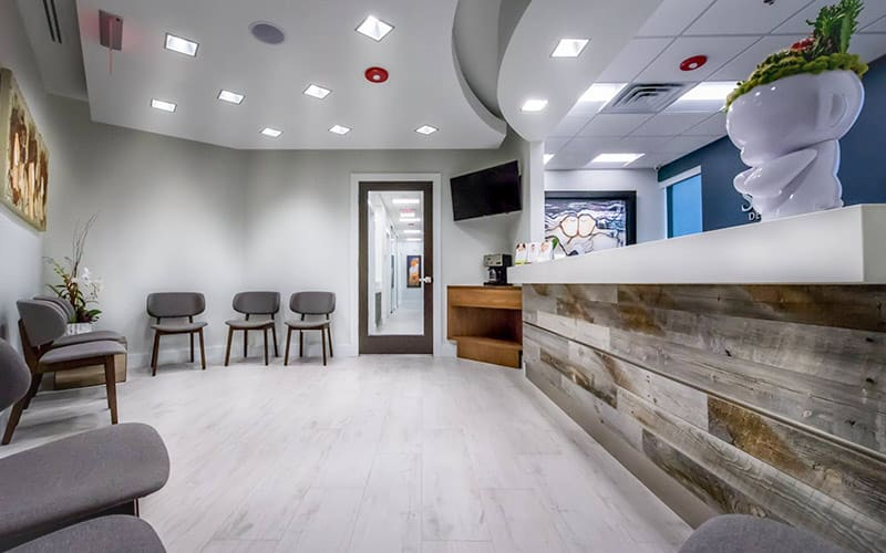 office for teeth whitening miami